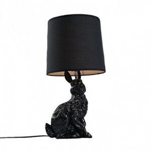 Настольная лампа Delight Collection Rabbit black