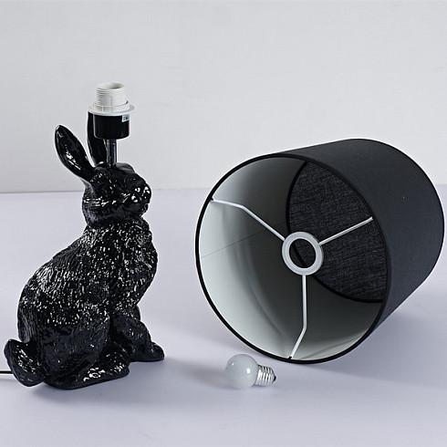 Настольная лампа Delight Collection Rabbit black -  фото 3