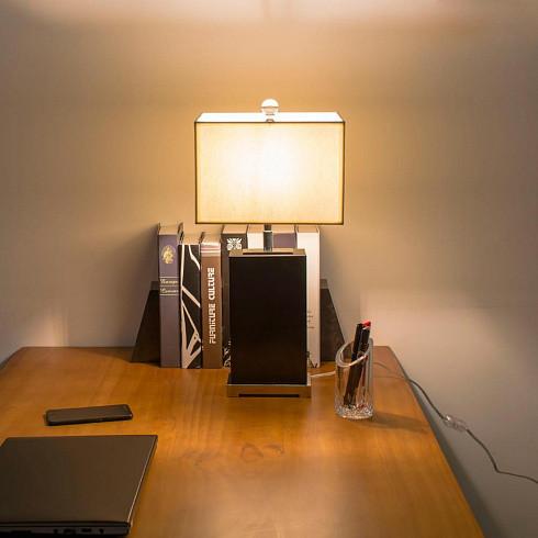 Настольная лампа Delight Collection TL1202-BK -  фото 2
