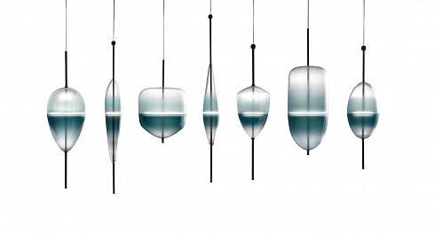 Подвесной светильник Delight Collection Flow C blue -  фото 3