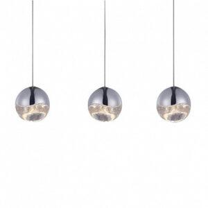 Подвесной светильник Delight Collection Globo 3 nickel