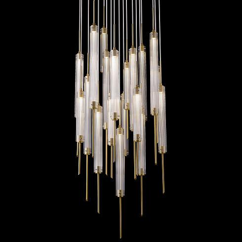 Подвесной светильник Delight Collection P98041-13 brass -  фото 2