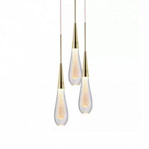 Подвесной светильник Delight Collection Pour 3 gold