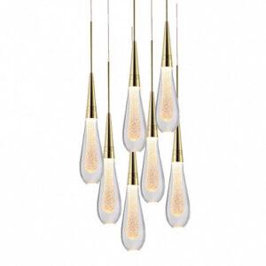 Подвесной светильник Delight Collection Pour 7 gold