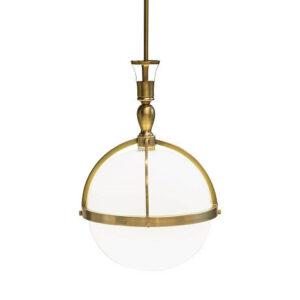 Подвесной светильник Gramercy Home CH119-1-BRS