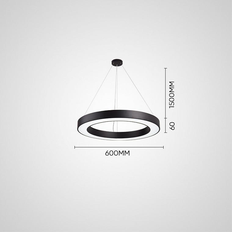 Подвесной светодиодный светильник  Ring M -  фото 10