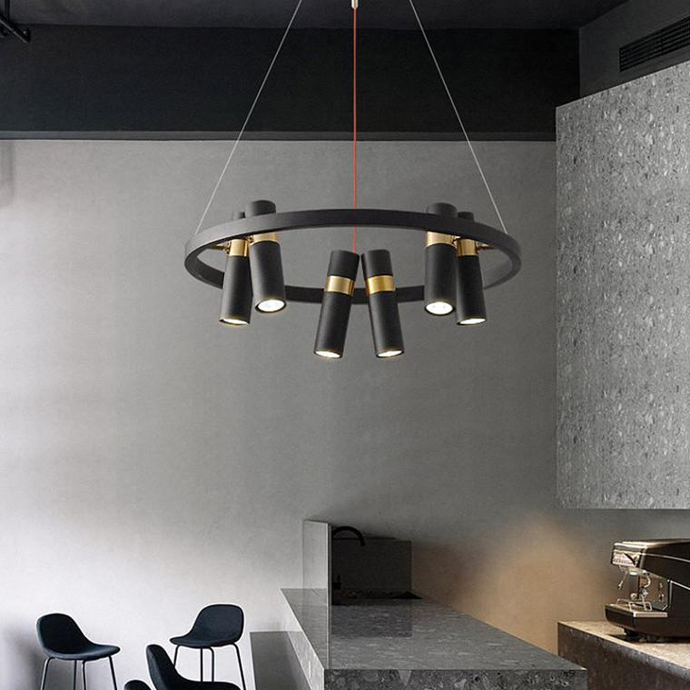 Подвесной светодиодный светильник Spoor 6 -  фото 2