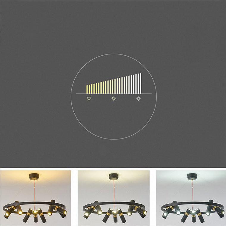 Подвесной светодиодный светильник Spoor 6 -  фото 14