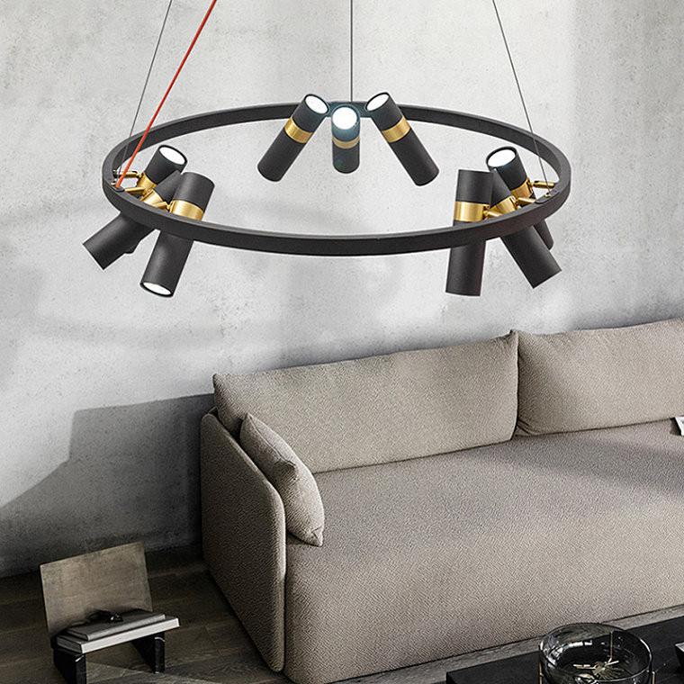 Подвесной светодиодный светильник Spoor 6 -  фото 4
