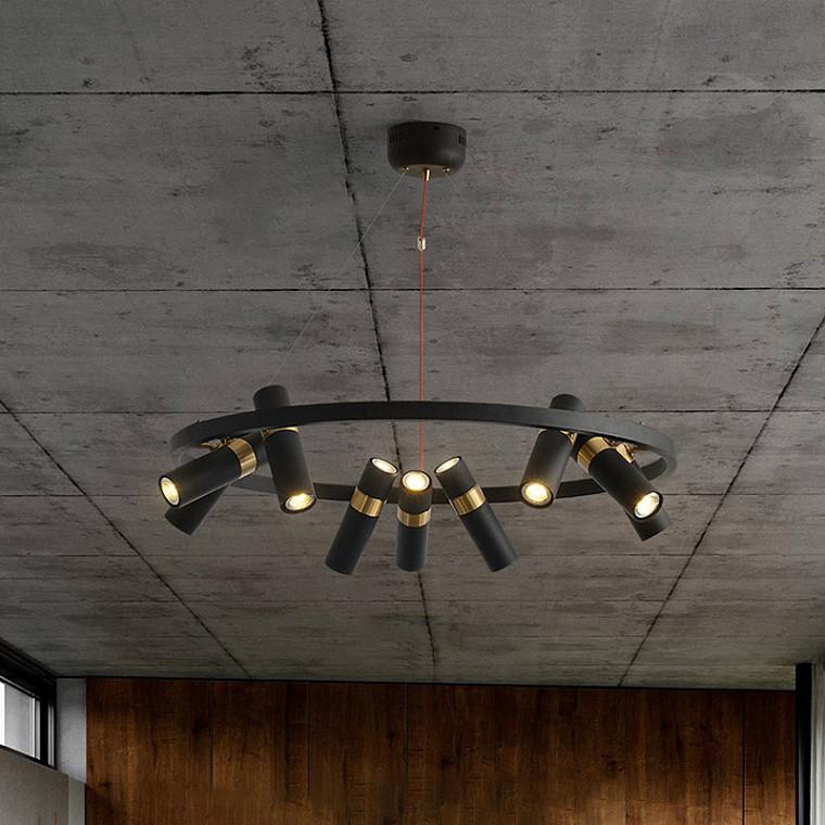 Подвесной светодиодный светильник Spoor 6 -  фото 9