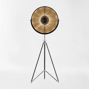 Торшер Delight Collection Studio black/gold