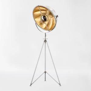 Торшер Delight Collection Studio white/gold