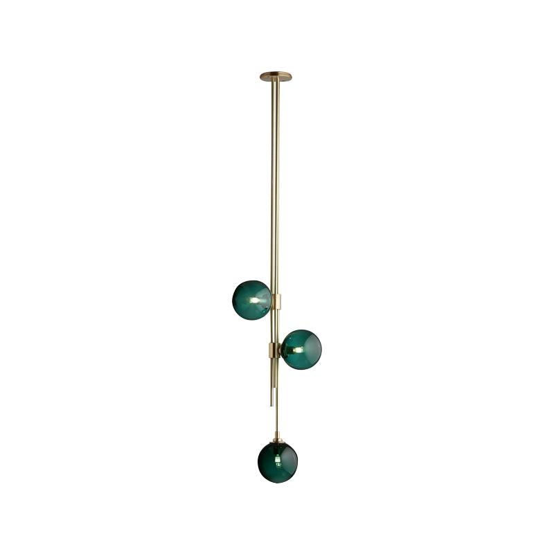 MOTEL A, дизайнерский подвесной светильник, подвесной светильник с плафоном из стекла, купить подвесной светильник в Москве