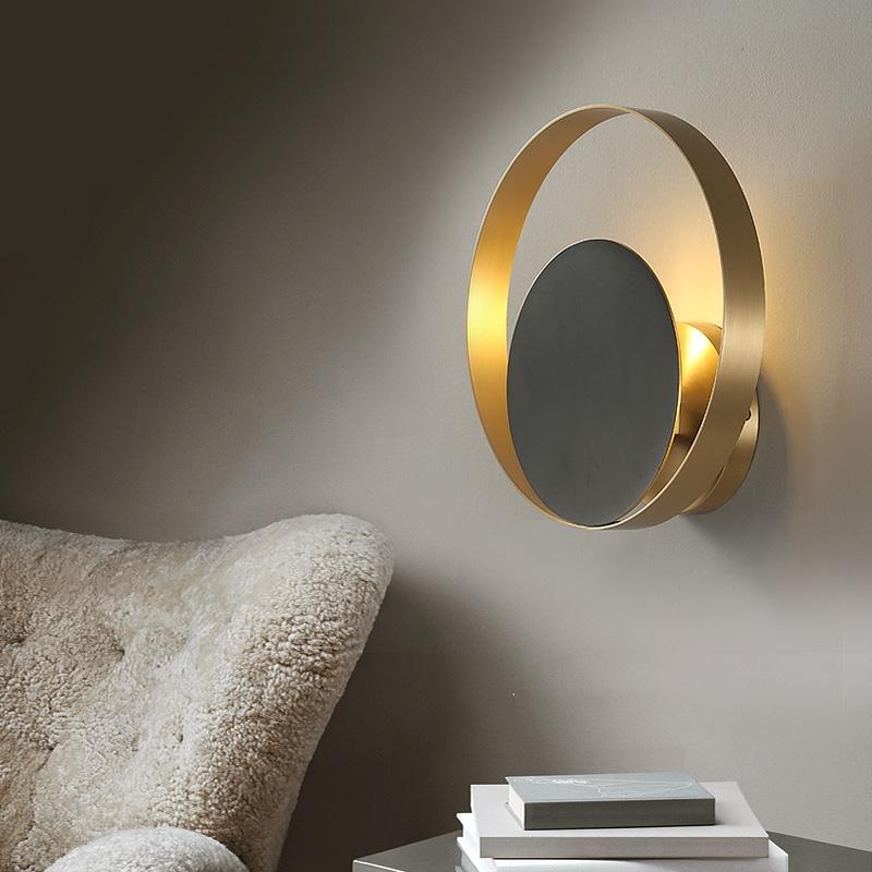 светильник круглый