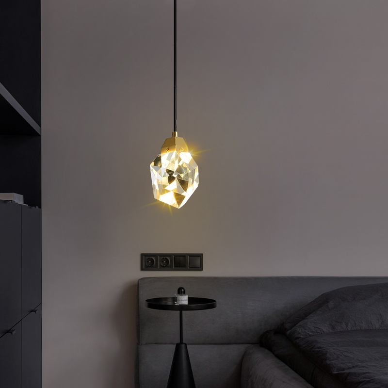 Стильный светильник стекло