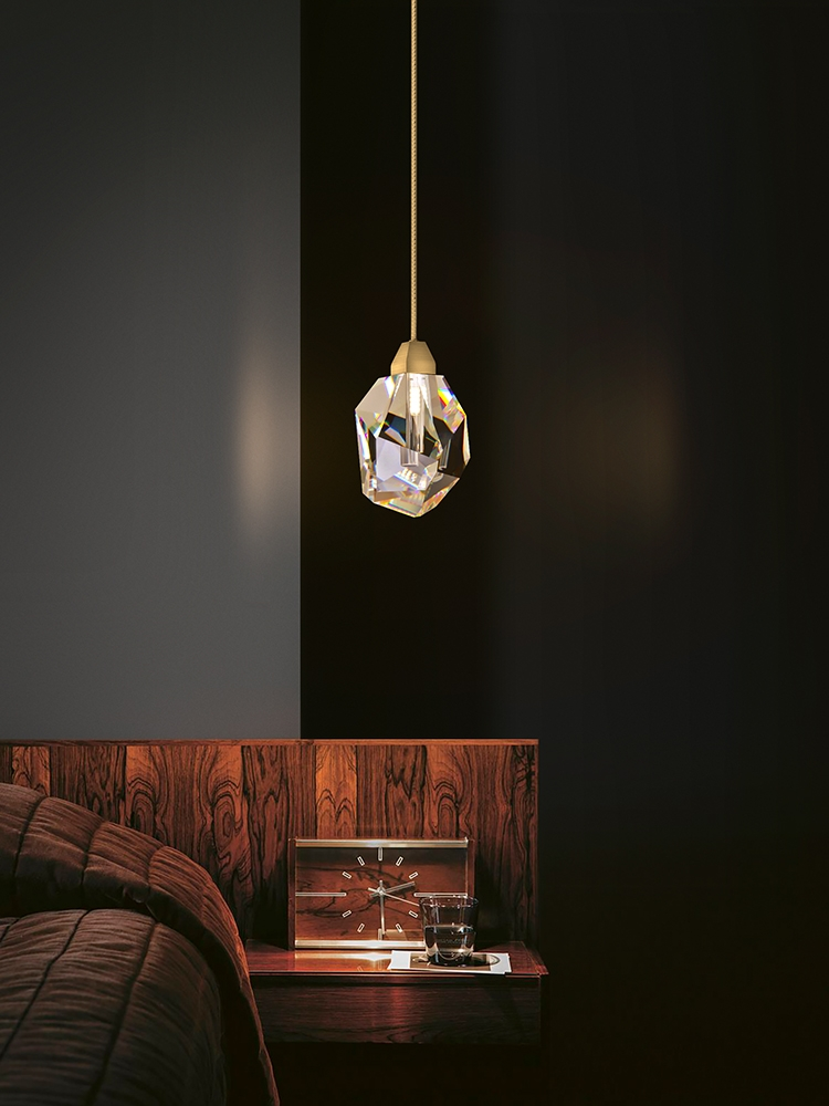 Хрустальный подвесной светильник