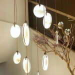 светильник подвесной круг MARBLE
