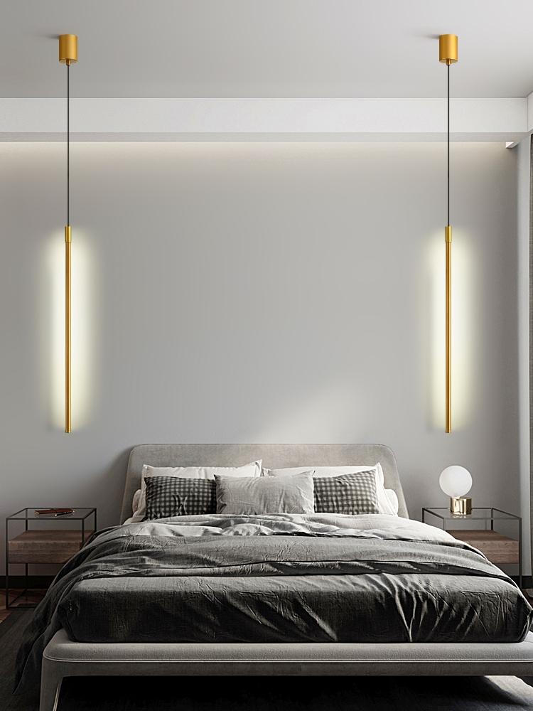 подвесной светильник современный золотой