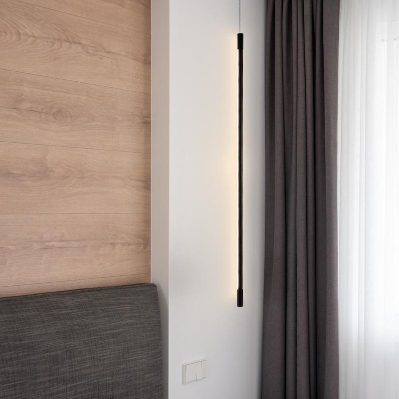 подвесной светильник черный светодиодный