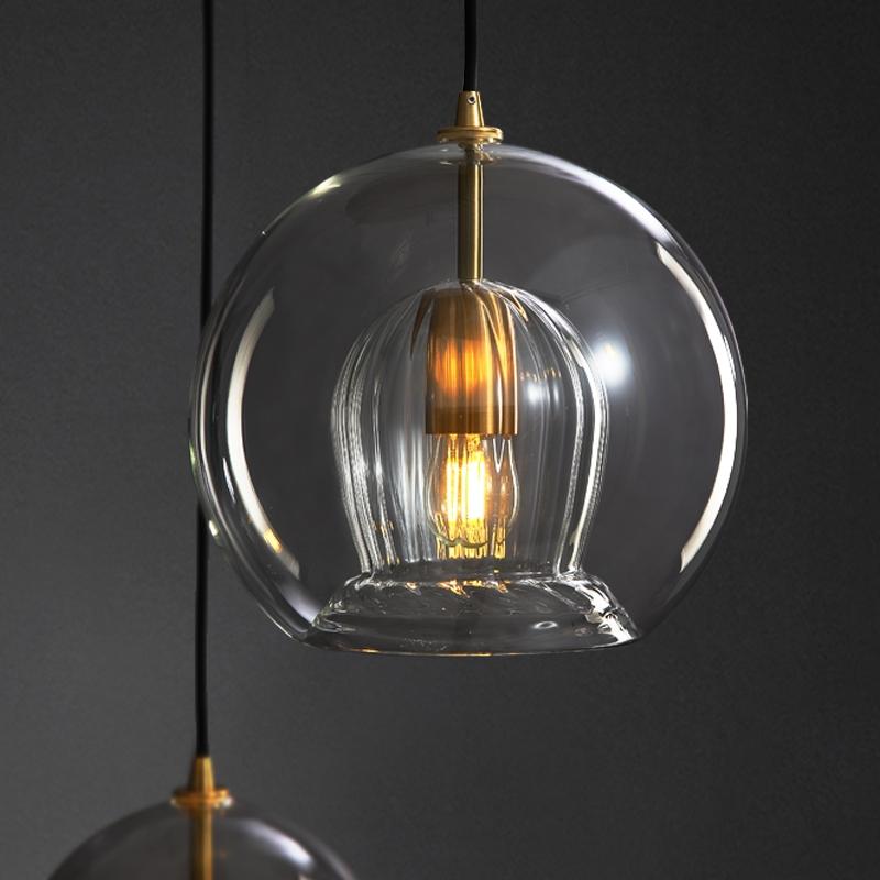 Lyse светильник плафон в форме шара