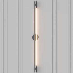 Дизайнерский светильник Leto wall black