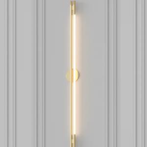 Светильник Leto wall brass