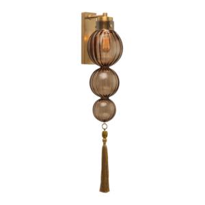 Бра Medina Wall Heathfield Lighting Antique Brass by Pontini
