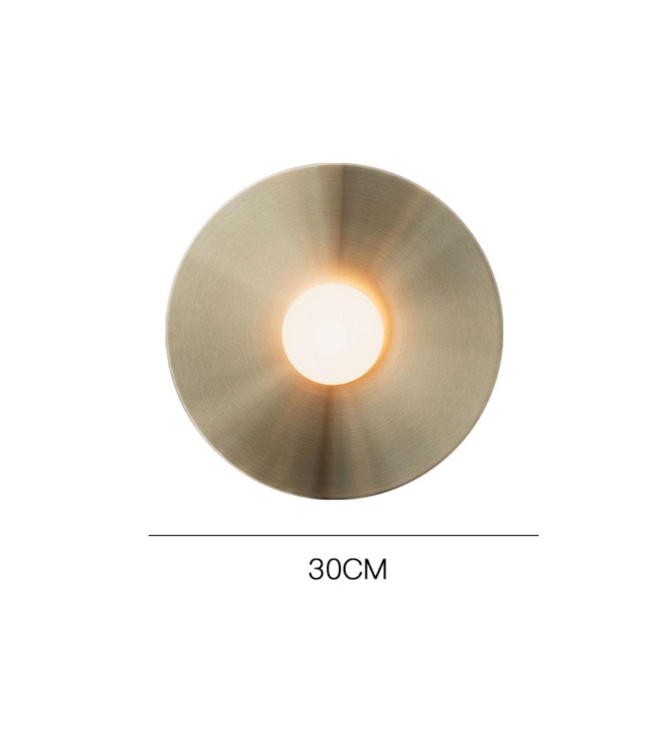 настенный круглый светильник