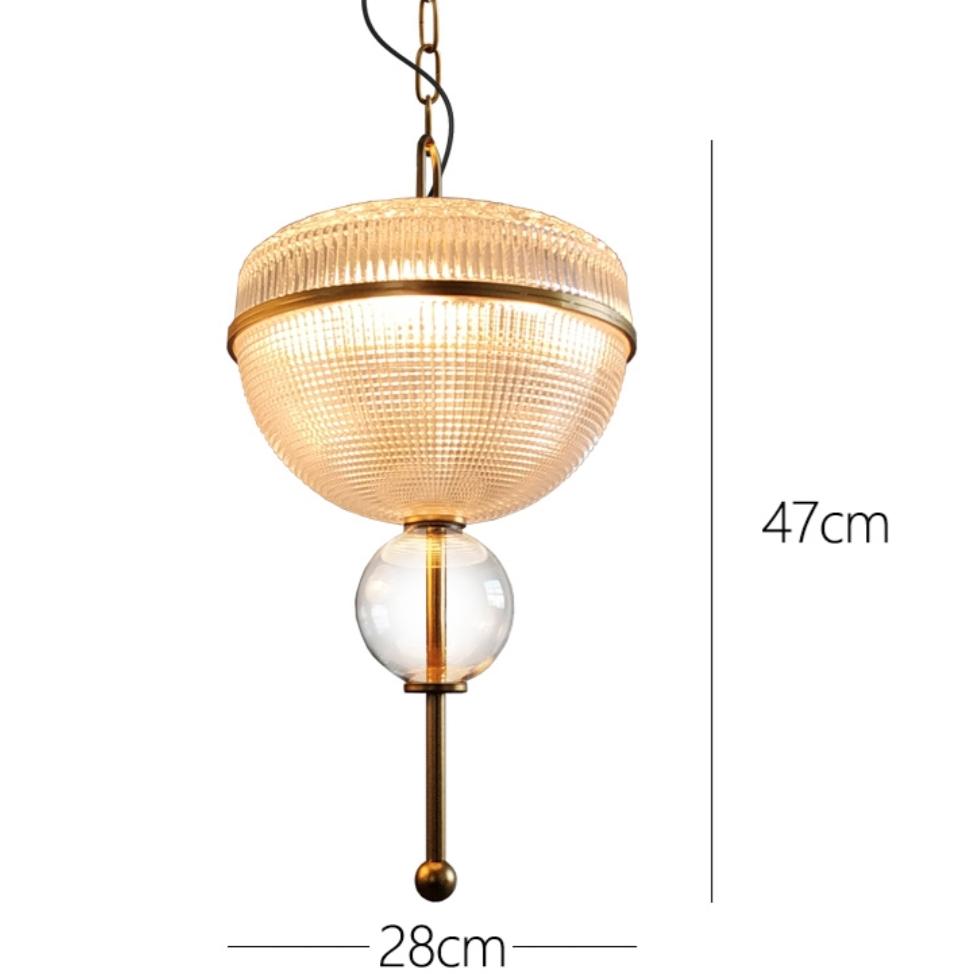 Ample светильники из стекла
