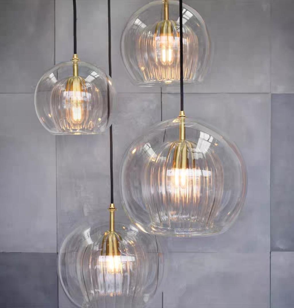 Lyse светильник из стекла