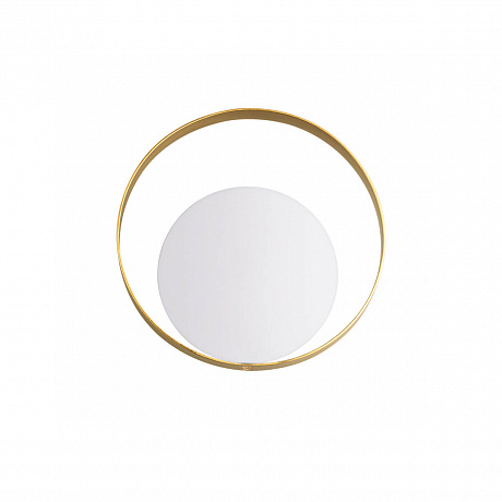 белый круглый светильник