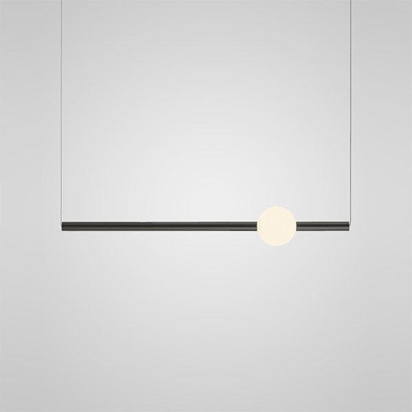 Подвесной светильник Orion horizontal black