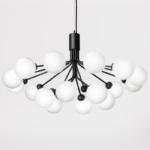 Люстра Berries Chandelier White Balloons Black 18