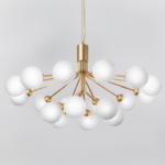 Люстра Berries Chandelier White Balloons Gold 18