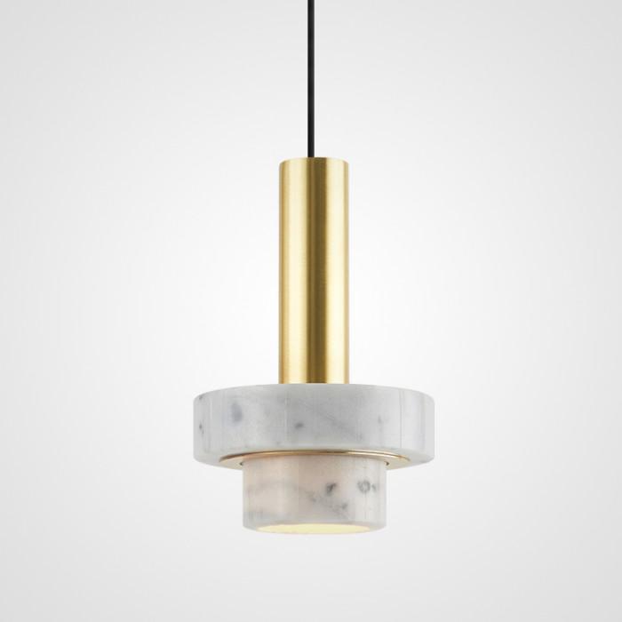 Дизайнерский светильник Cadis белый мрамор
