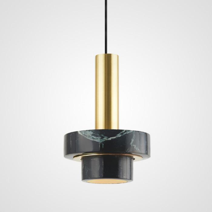 Дизайнерский светильник Cadis зеленый мрамор