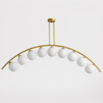 Светильник Ceiling lamp arc and balls