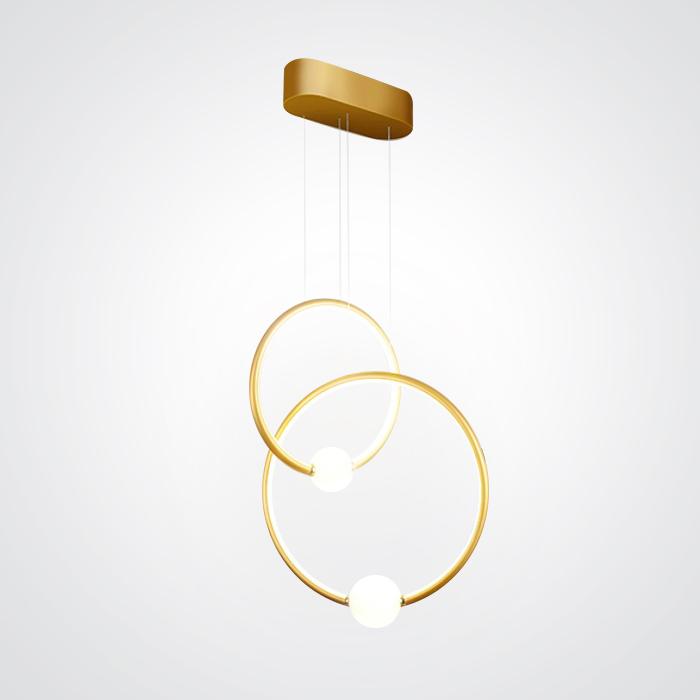 Подвесной светильник Griggs Duo золото