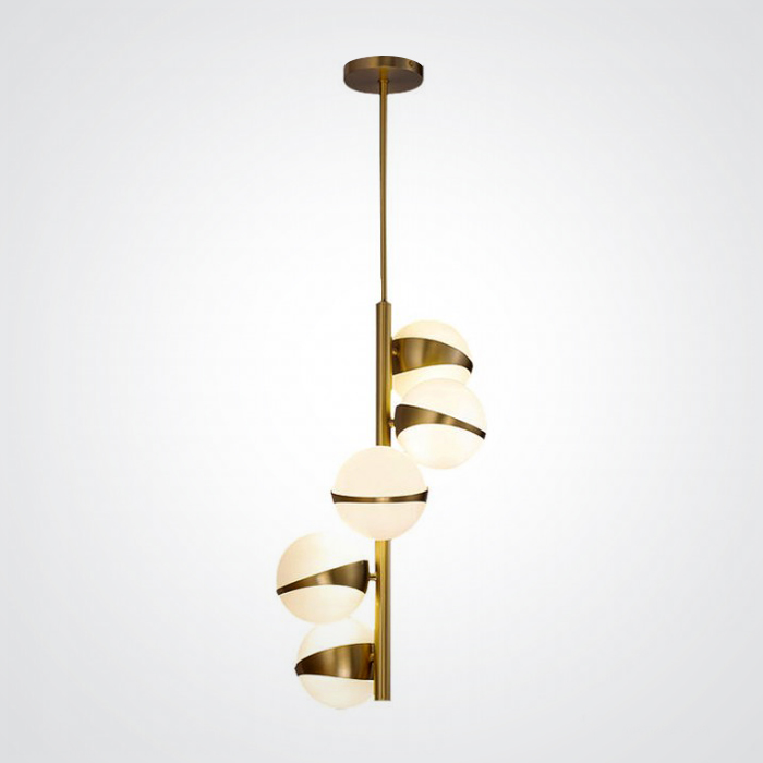 Подвесной светильник Kaira 5 плафонов