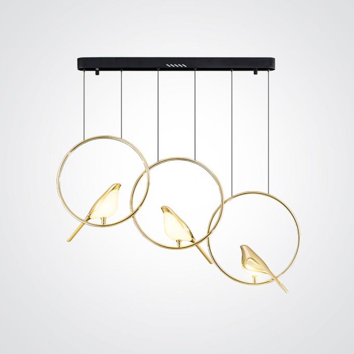 Подвесной светильник Nomi три круга