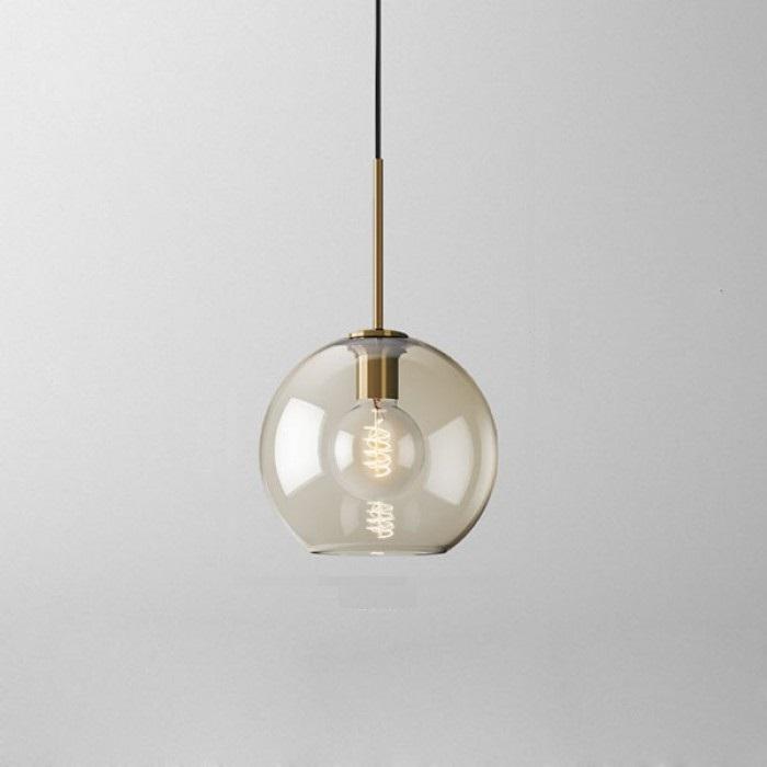 Подвесной светильник Vilmo со средним круглым плафоном