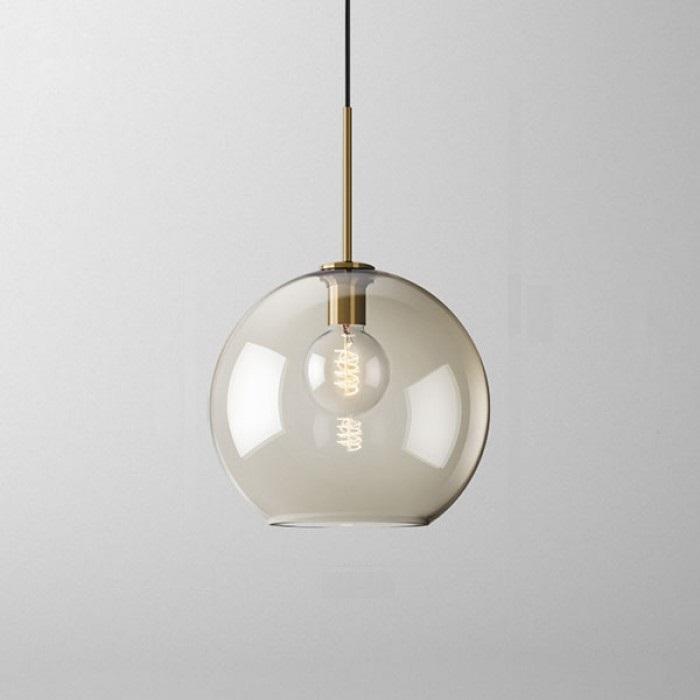 Подвесной светильник Vilmo с большим круглым плафоном