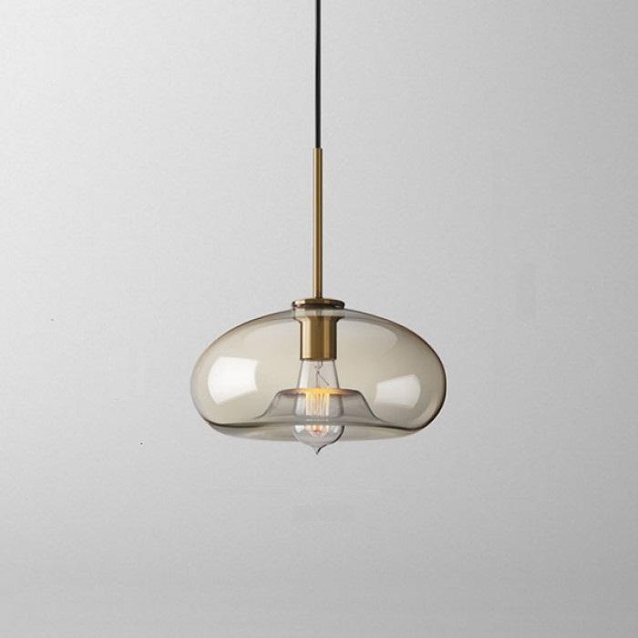Подвесной светильник Vilmo с приплюснутым плафоном