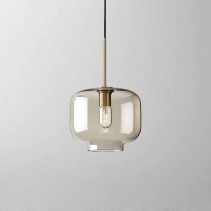 Подвесной светильник Vilmo с плафоном в виде банки