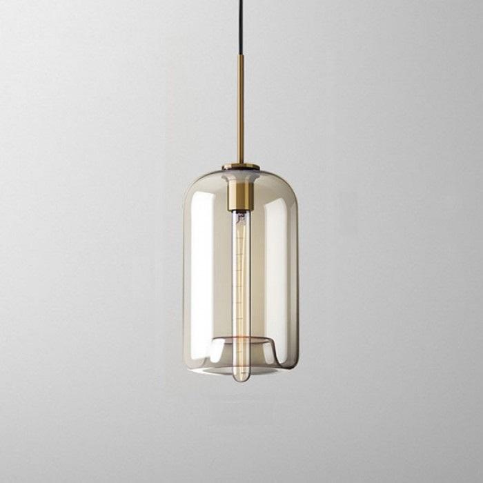 Подвесной светильник Vilmo с цилиндрическим плафоном