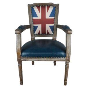 Кресло Union Jack Square Pattern