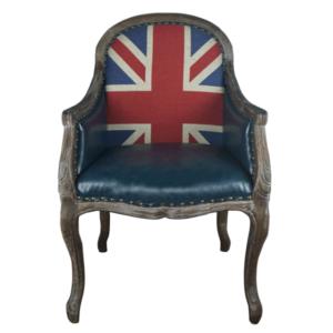 Кресло Bergere Union Jack Pattern II