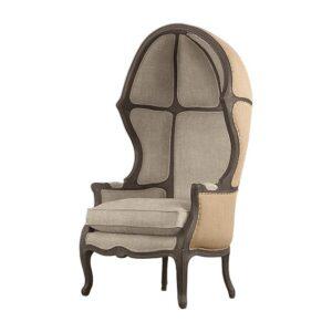 Кресло купол RH Versailles Domed Burlap Backed Chair