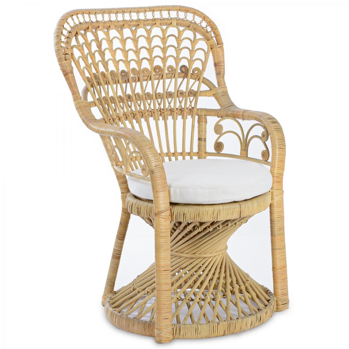 Уличное кресло Wicker Chair ротанг  - фото 1