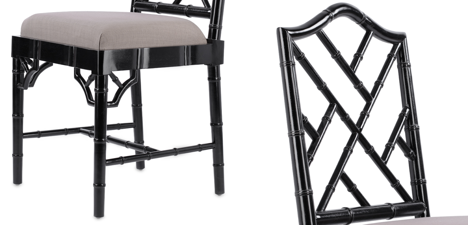 Black Chippendale Chair  - фото 2